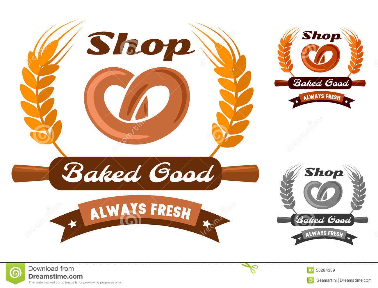 Bakery Cafe Logos