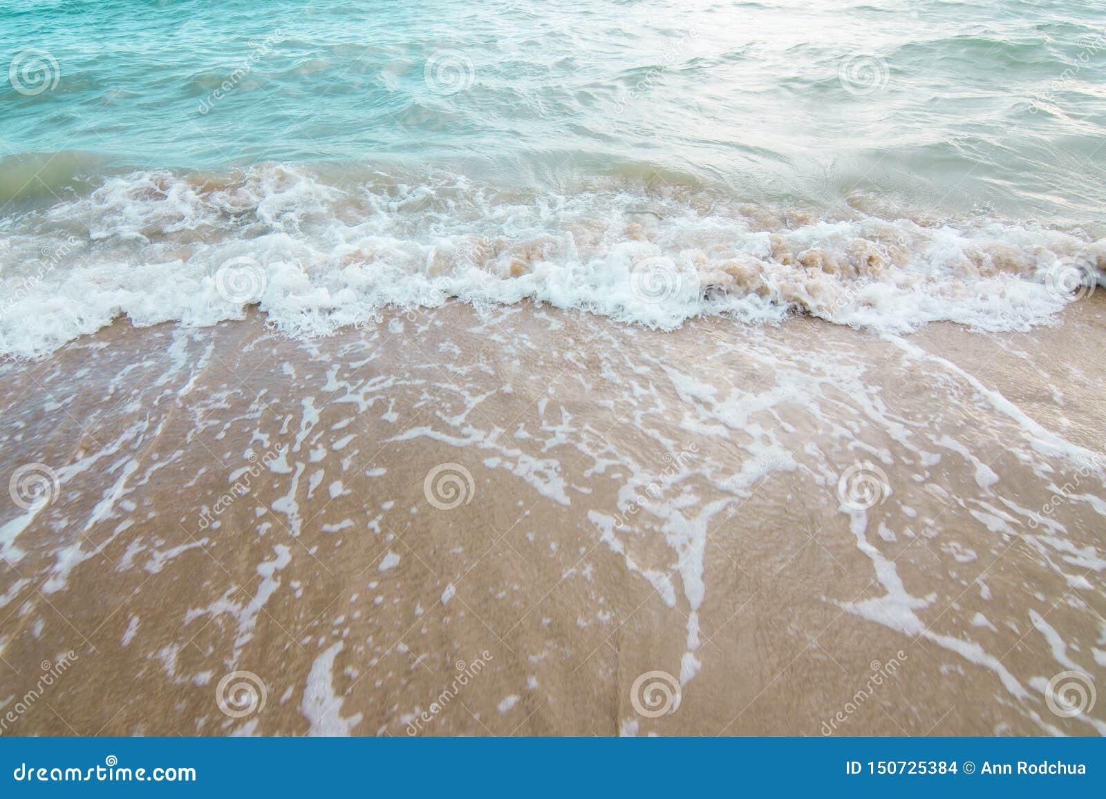 Bakgrund av havet och stranden