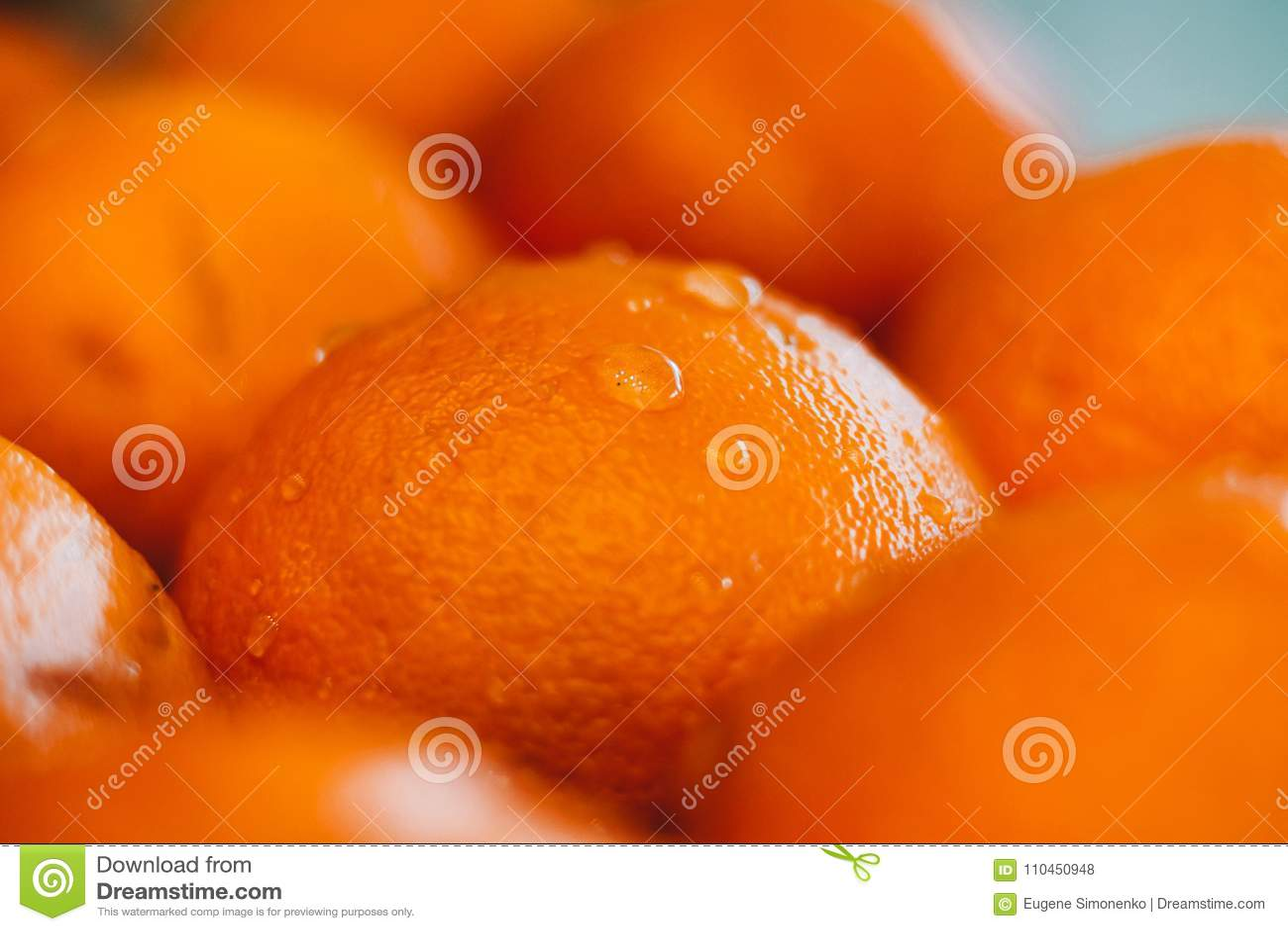 Bakgrund av orangen