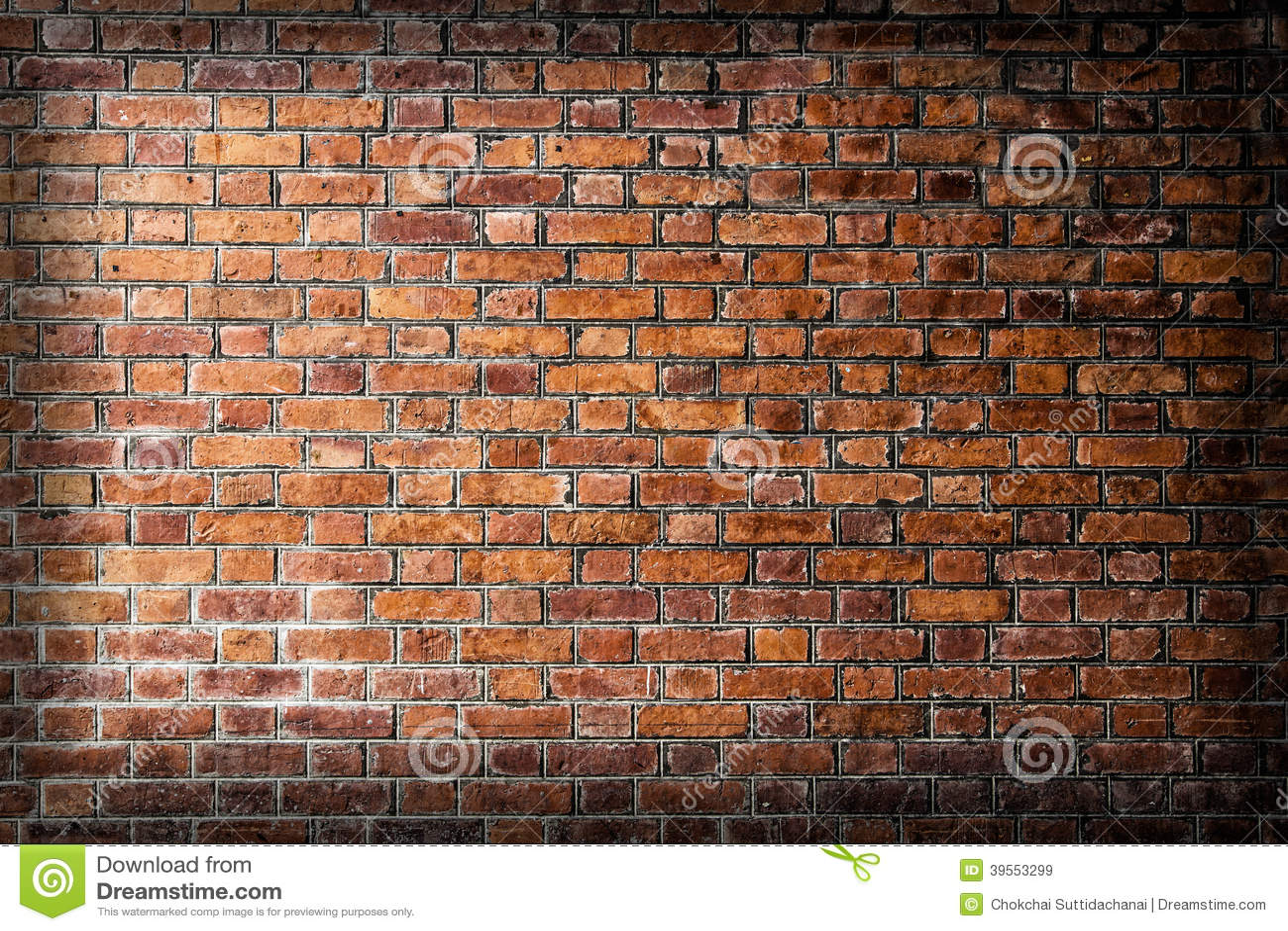 Bakgrund av textur för tegelstenvägg