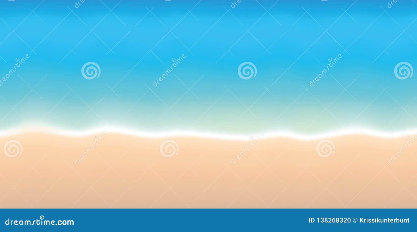 Bakgrund för ferie för sommar för turkosvatten och för sandig strand