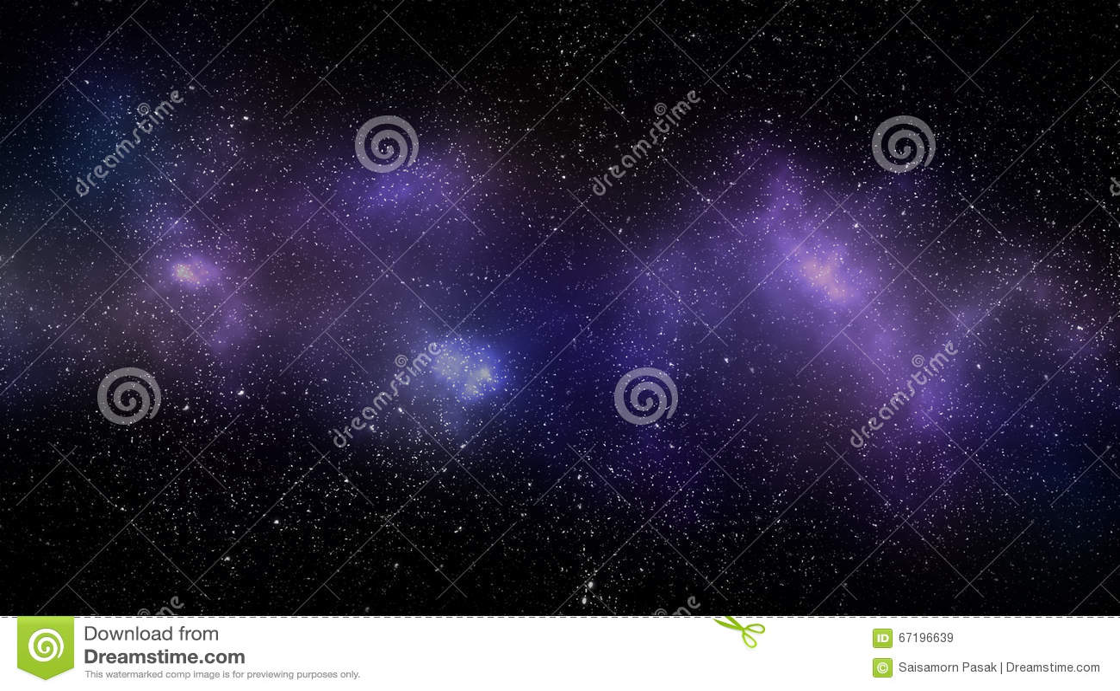 Bakgrund för galaxutrymmenebulosa