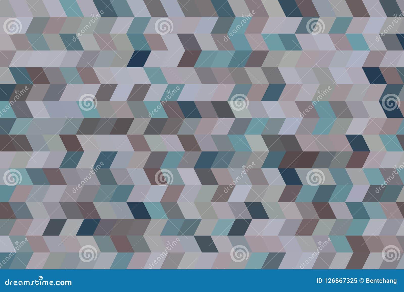 Bakgrund för konst för geometrisk modell för remsa för färgabstrakt begreppform generativ Textur, design, rengöringsduk & bakgrun
