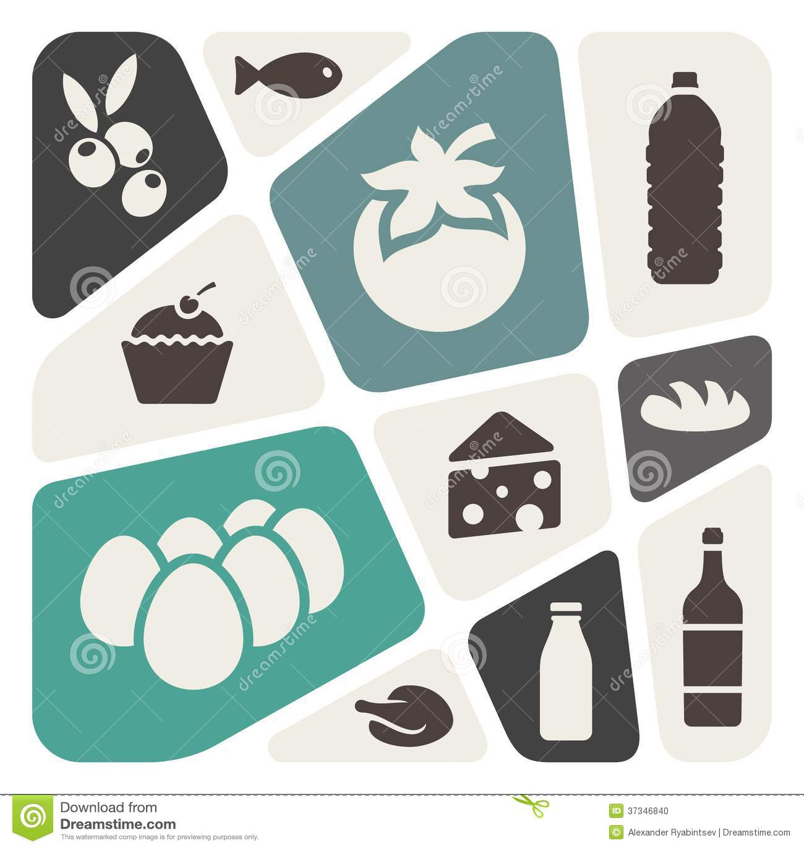 Bakgrund för mattemaabstrakt begrepp