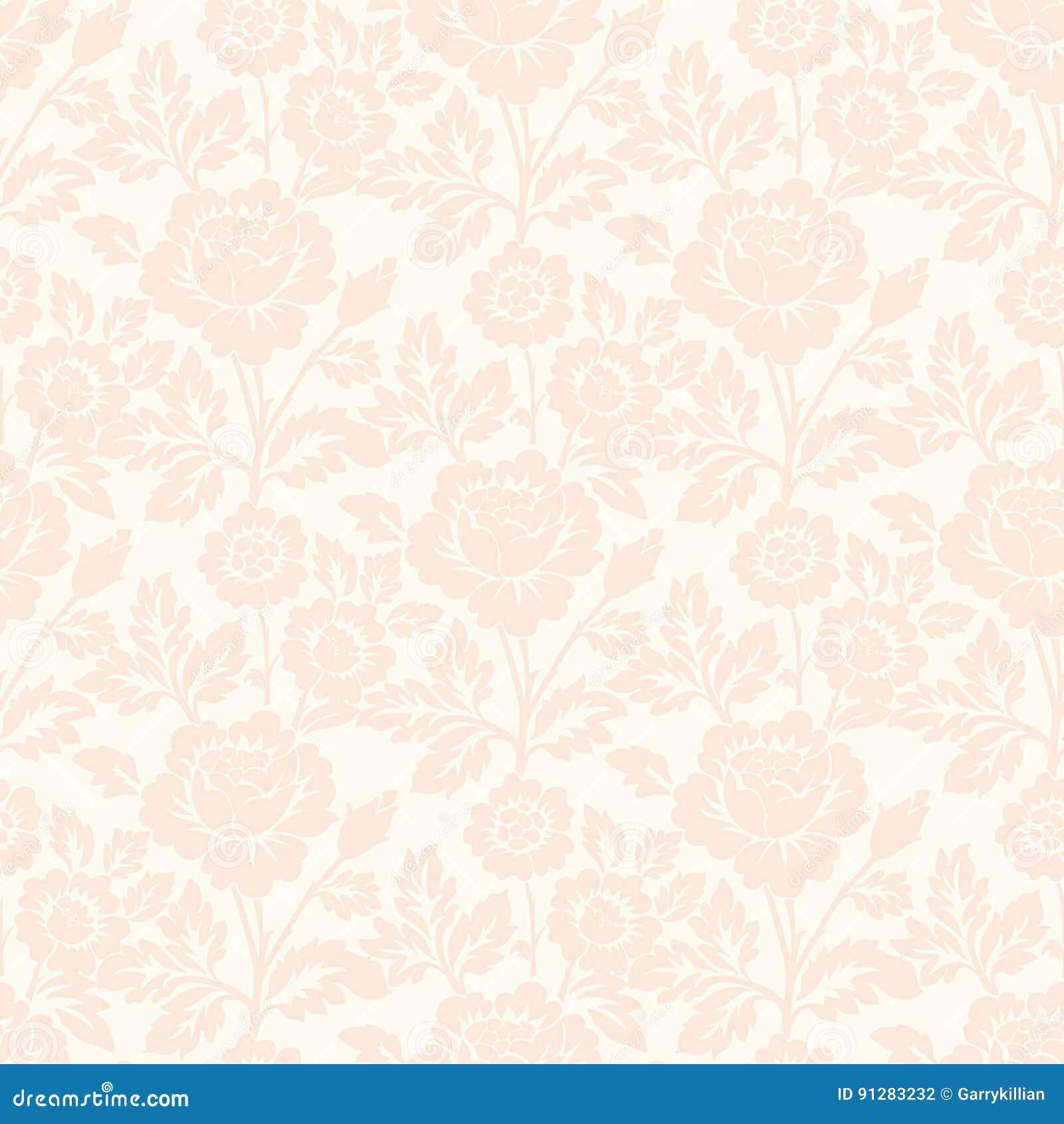Bakgrund för modell för vektorblomma sömlös Elegant textur för bakgrunder