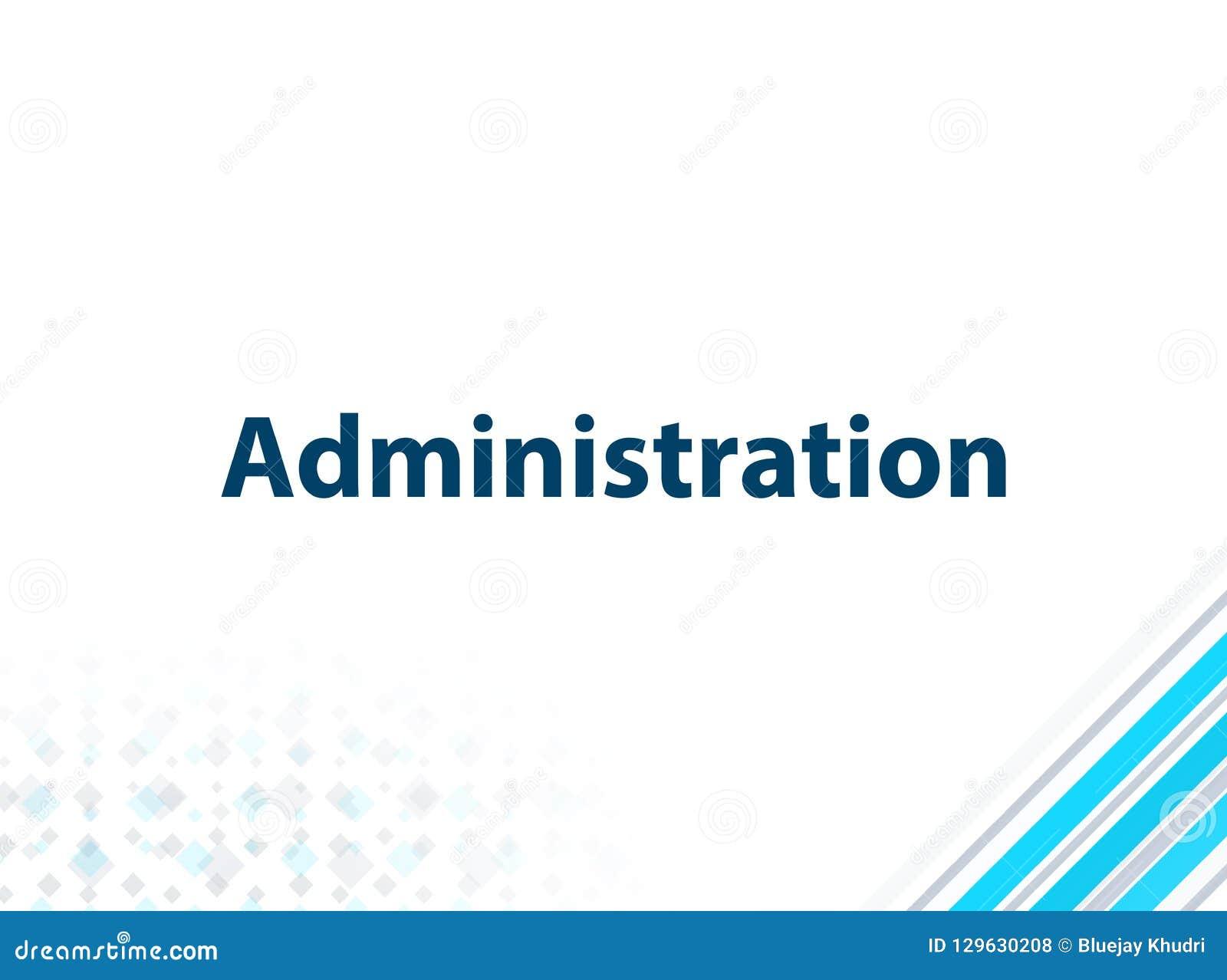 Bakgrund för modern plan design för administration blå abstrakt
