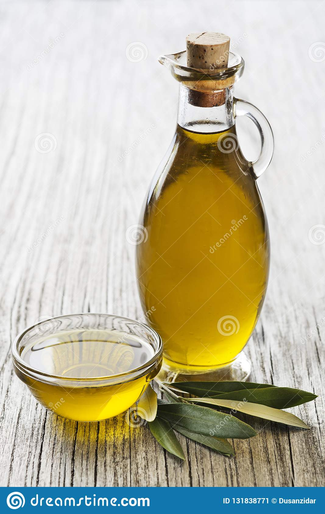 Bakgrund för olivoljaflaska