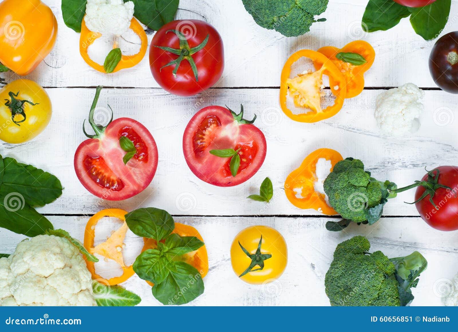 Bakgrund för organisk mat