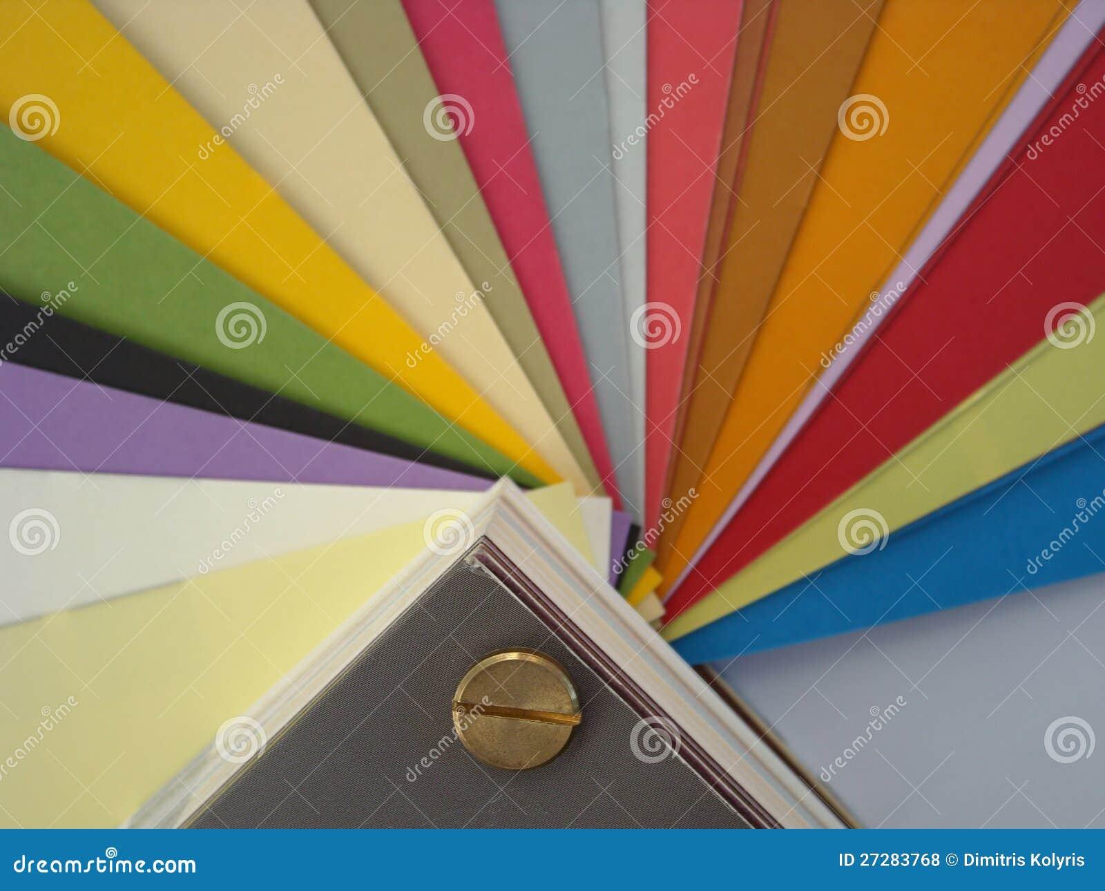 Bakgrund för Paper färger