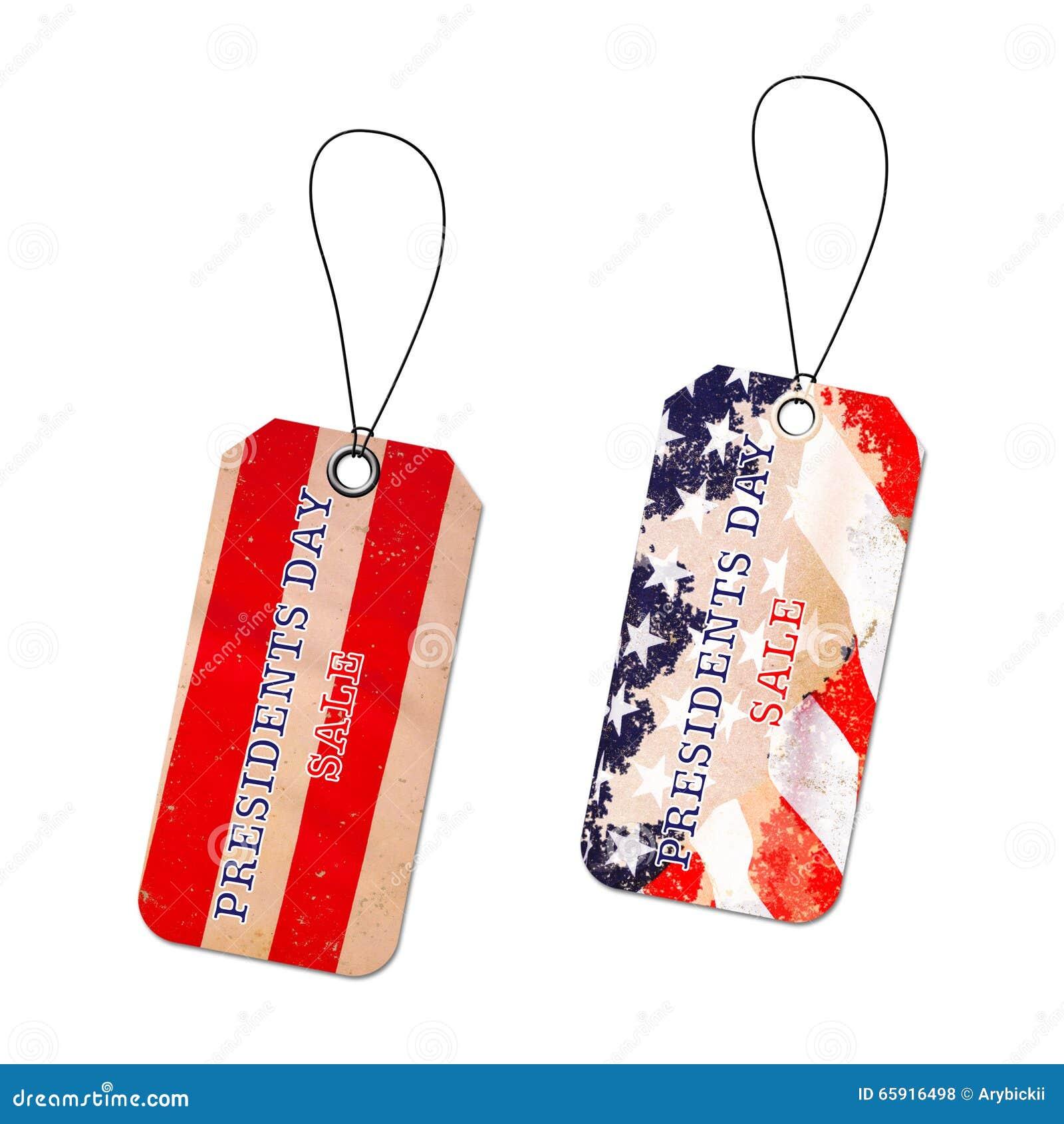 Bakgrund för presidentdagförsäljning