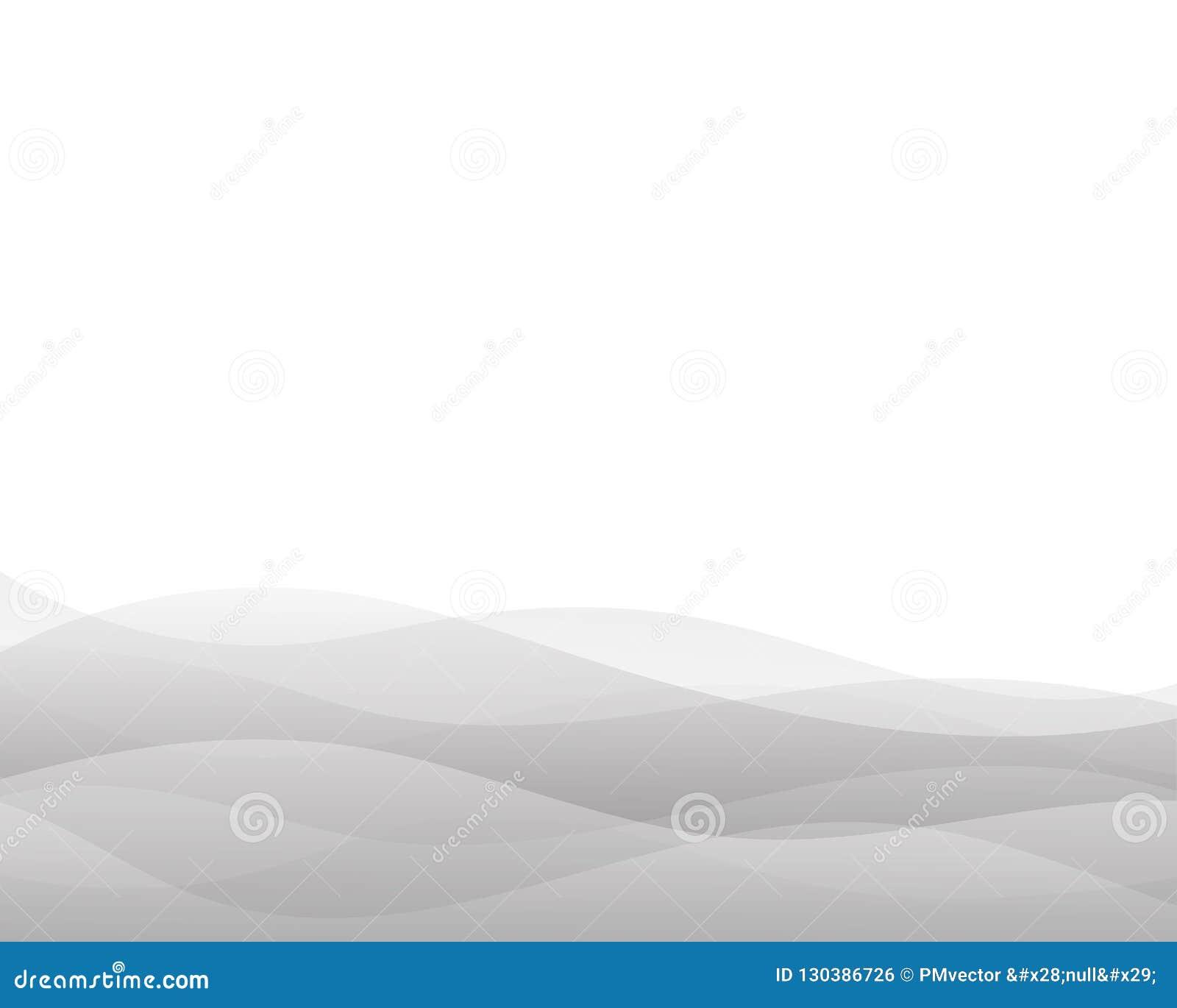 Bakgrund för vektor för grått vågbegrepp abstrakt