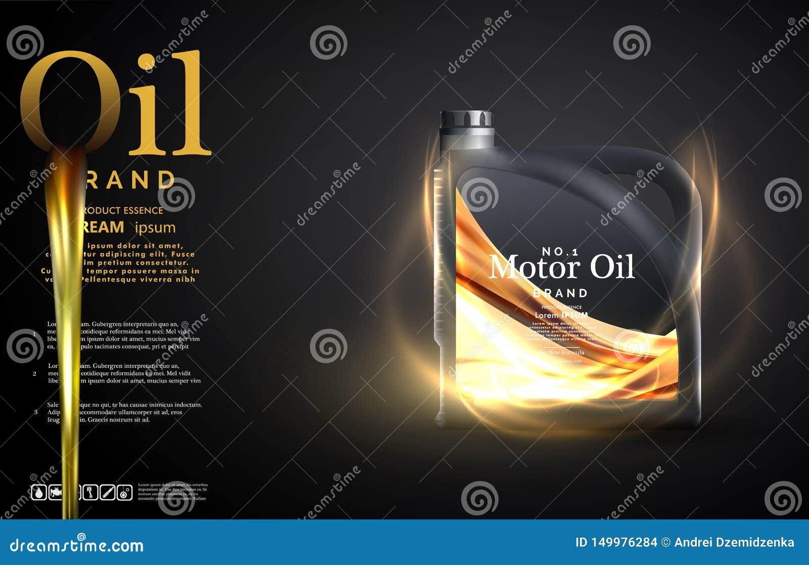 Bakgrund f?r annonsering f?r motorolja Motorisk olja