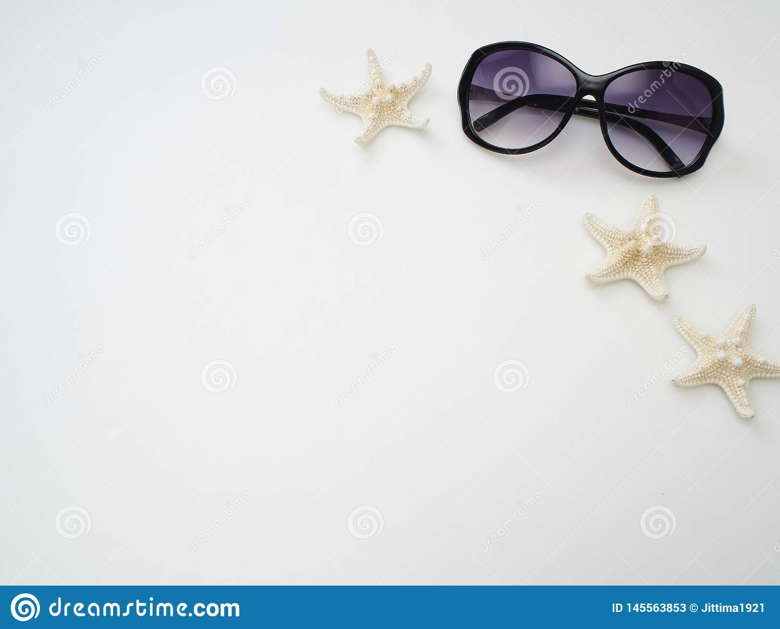 Bakgrund f?r sommarferie, strandtillbeh?r