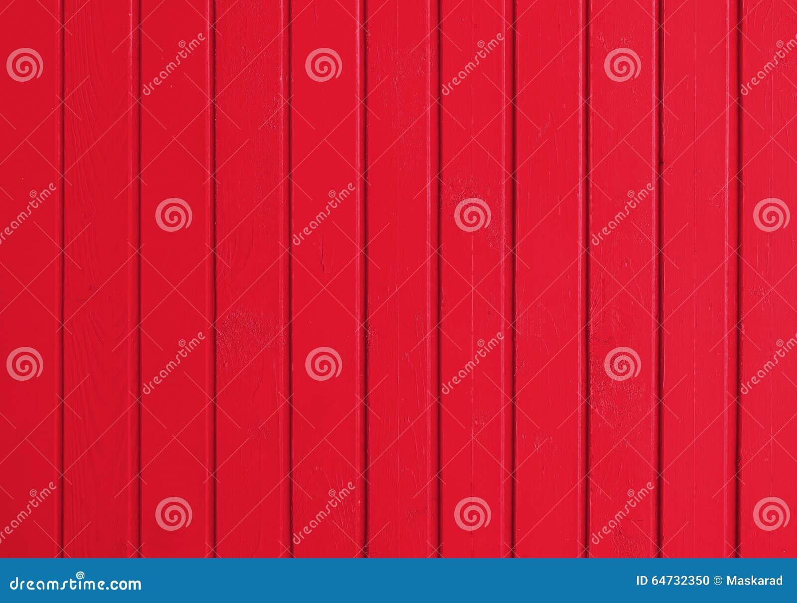 Bakgrund från brädena målade vid röd målarfärg