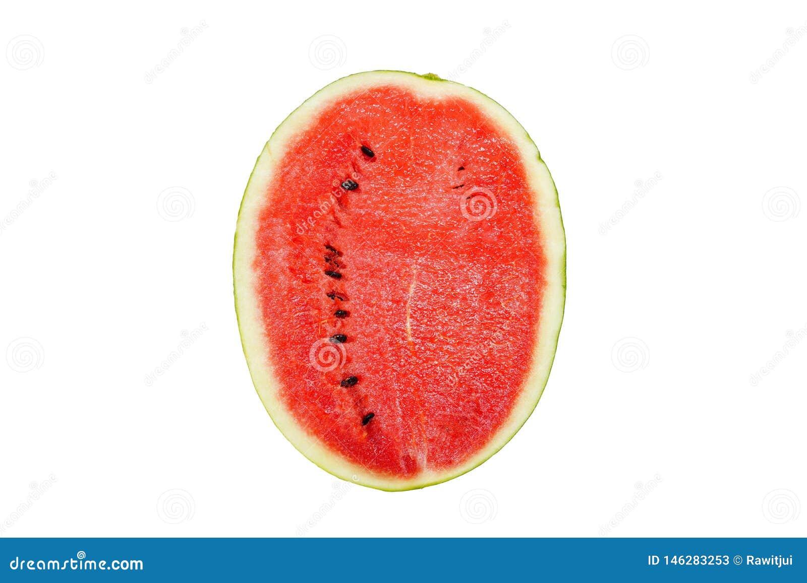 Bakgrund isolerad vattenmelonwhite
