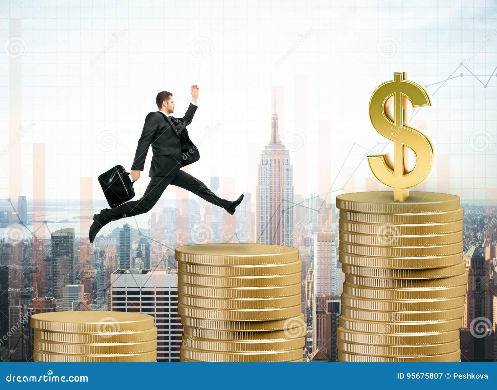 Bakgrundsbegreppet bantar guld- äggfinans
