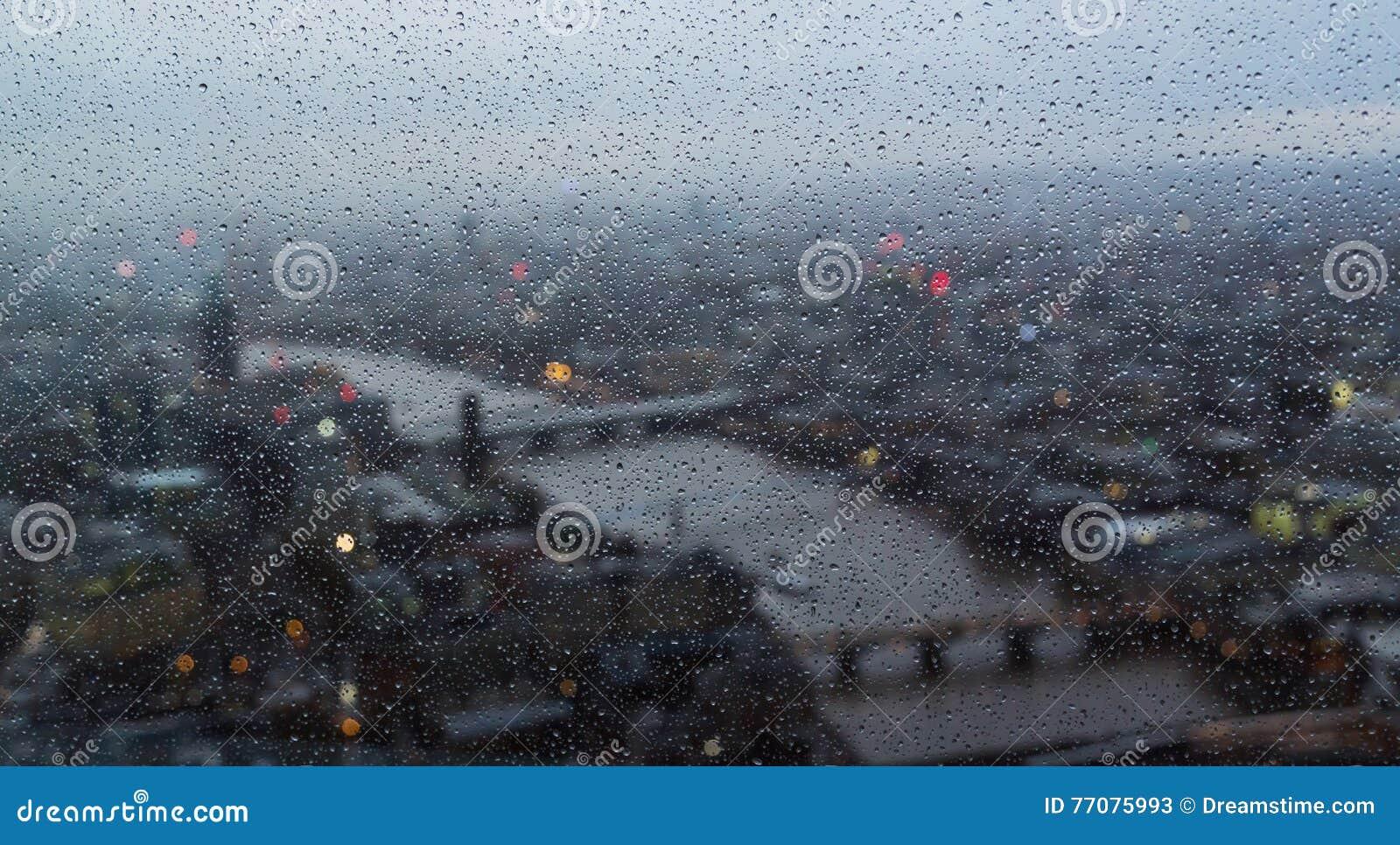 Bakgrundsben stor dag regniga london