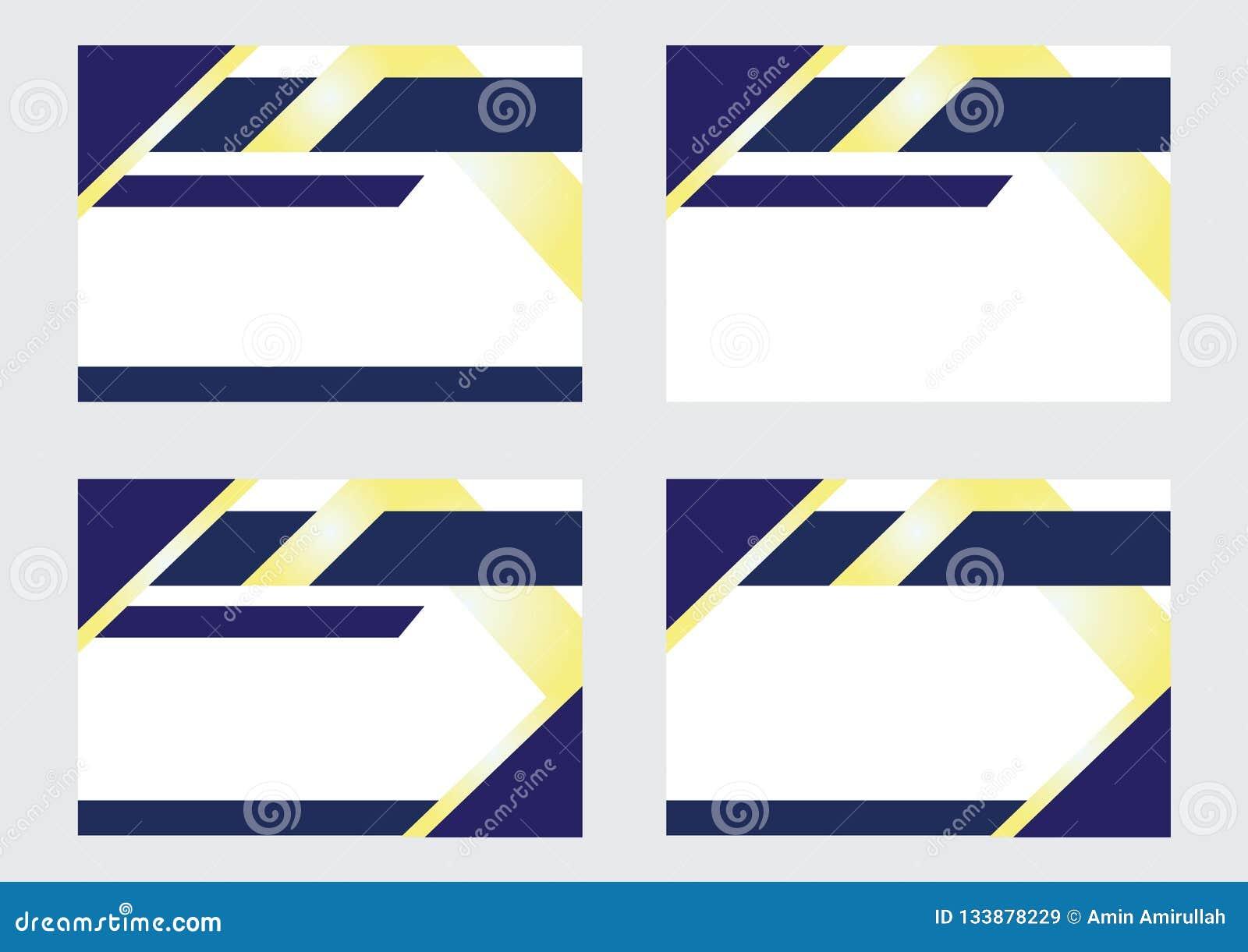 Bakgrundsdesign för baner och certifikat