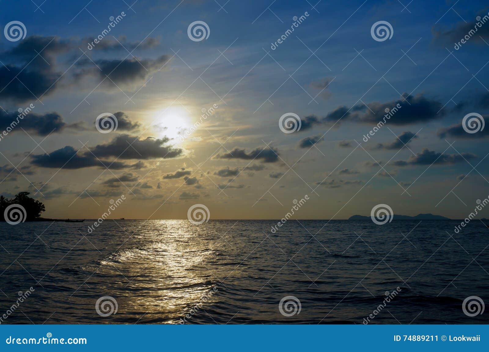 Bakgrundshavet sänder soluppgång