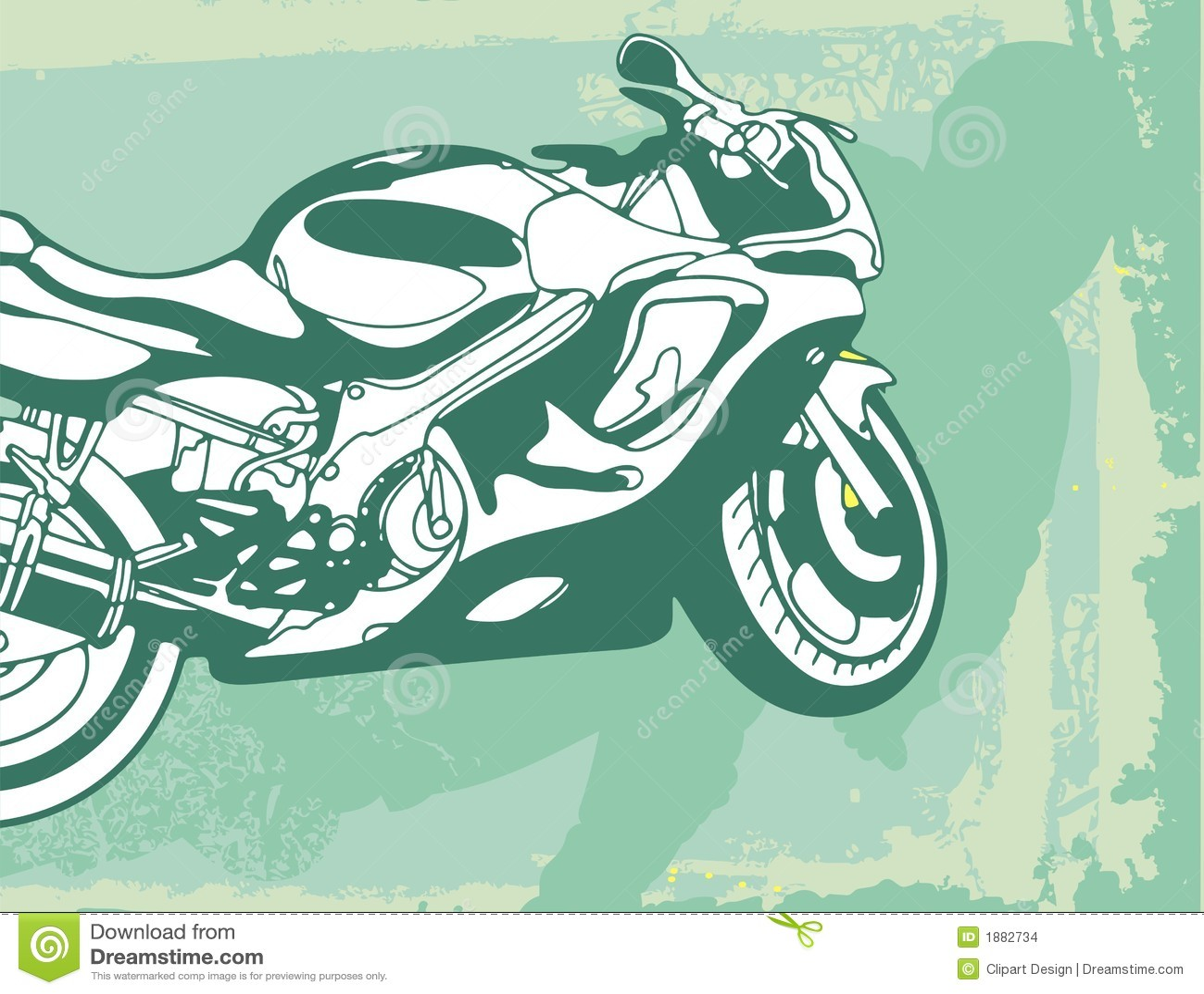 Bakgrundsmotorcykel