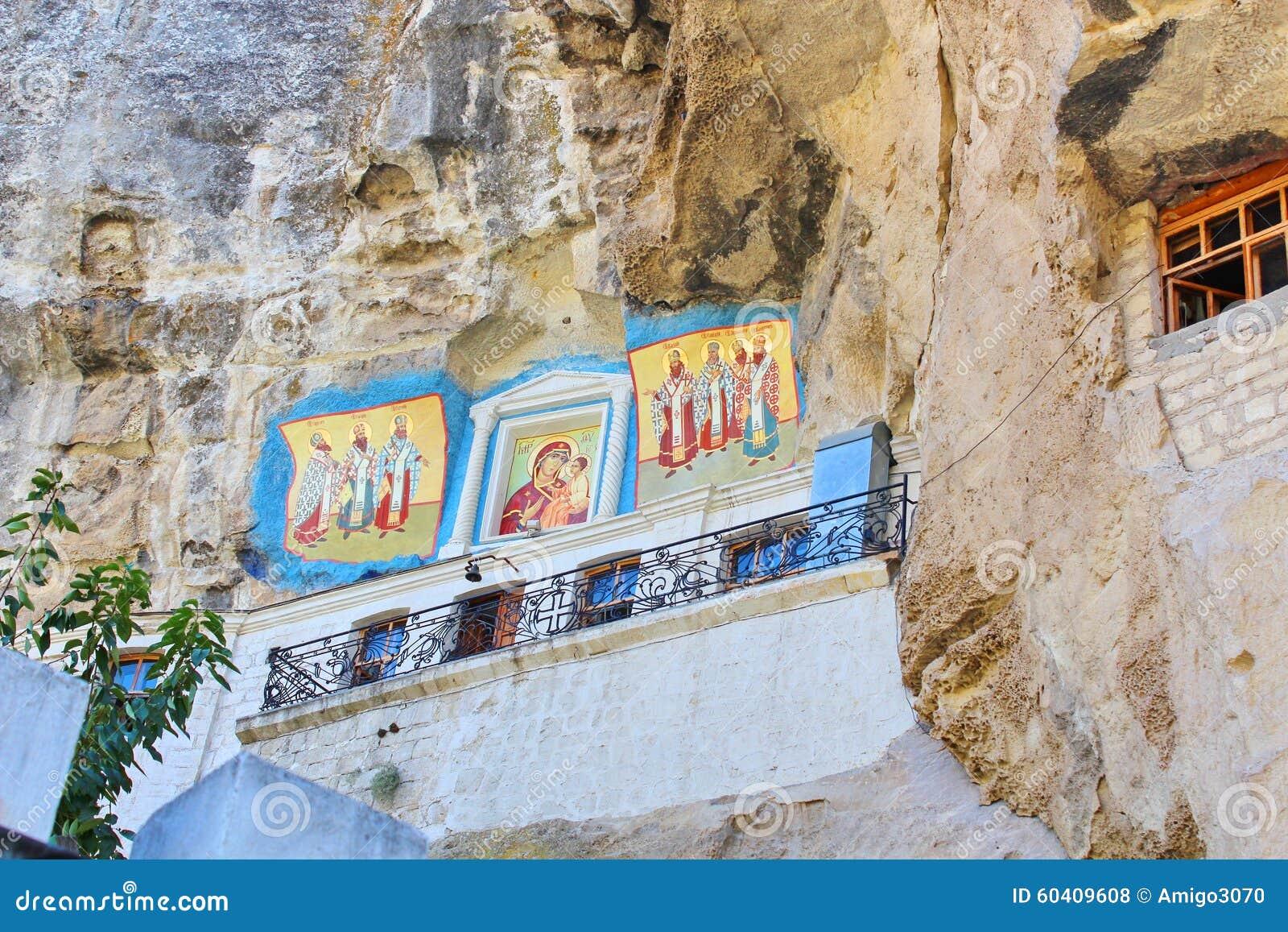 Bakhchisarai在uspenskiy附近的克里米亚修道院