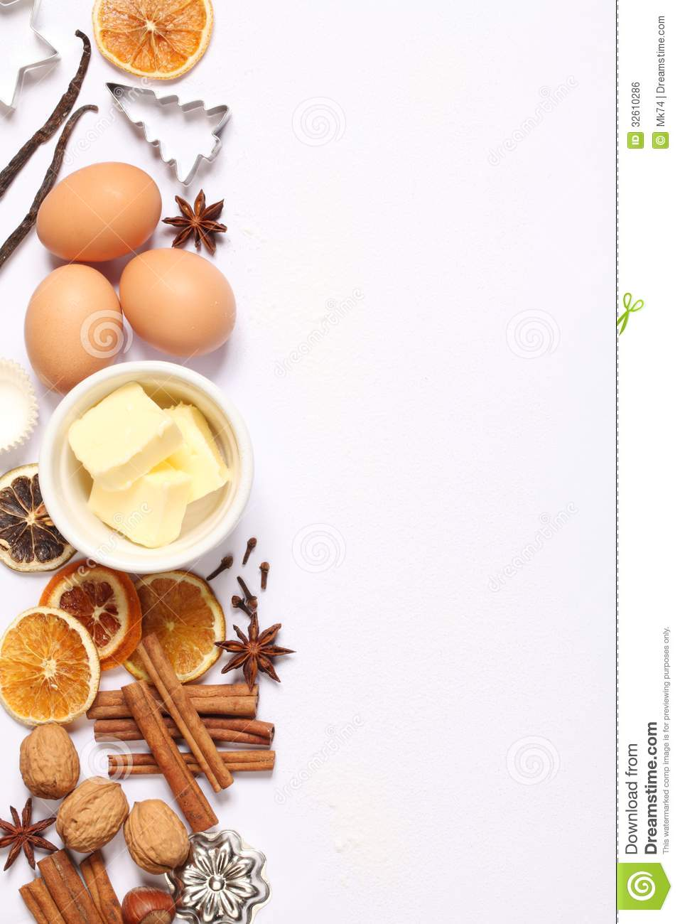 Baking Background Stock Photo Image Of Butter Cutter