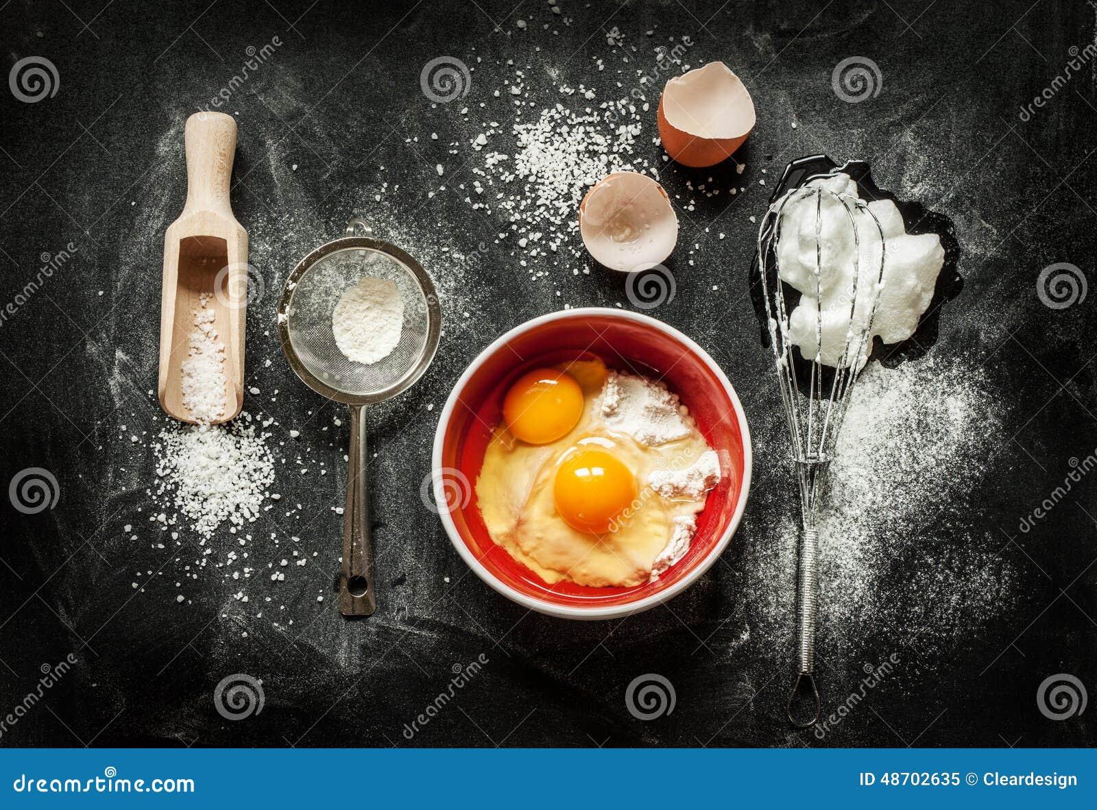 Foam Cake Ingredients