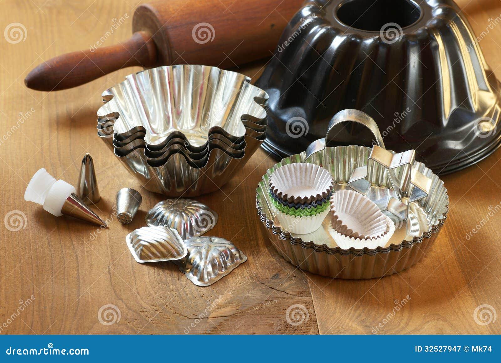 Baking equipment stock image. Image of cake, life, baking ...