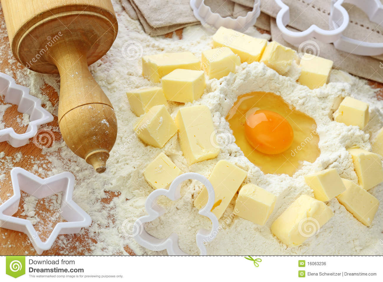 Baking ingredients royalty free stock image image 16063236 for Shortcrust pastry ingredients