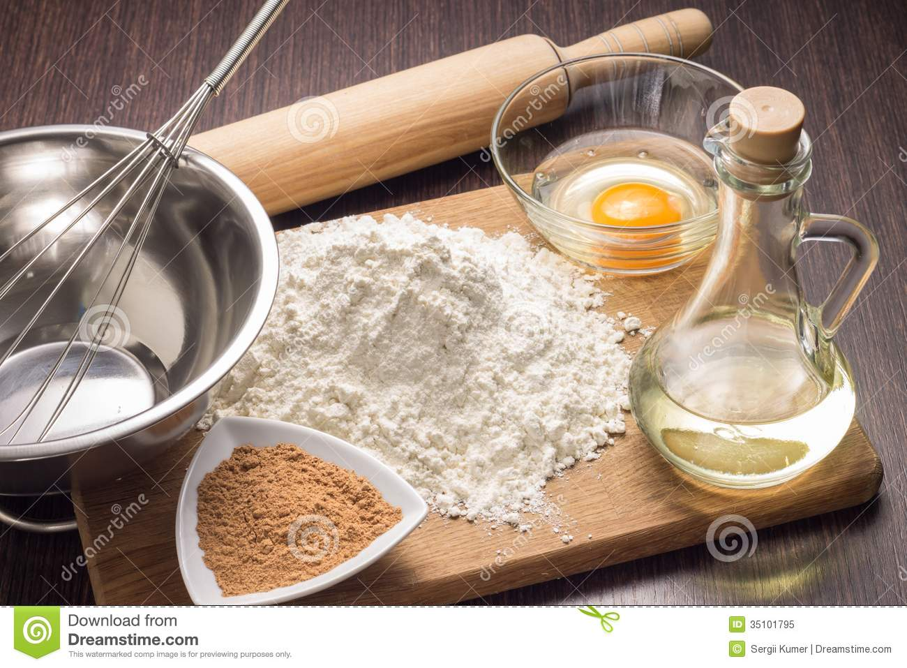 Baking Ingredients Background Royalty Free Stock Photo - Image ...