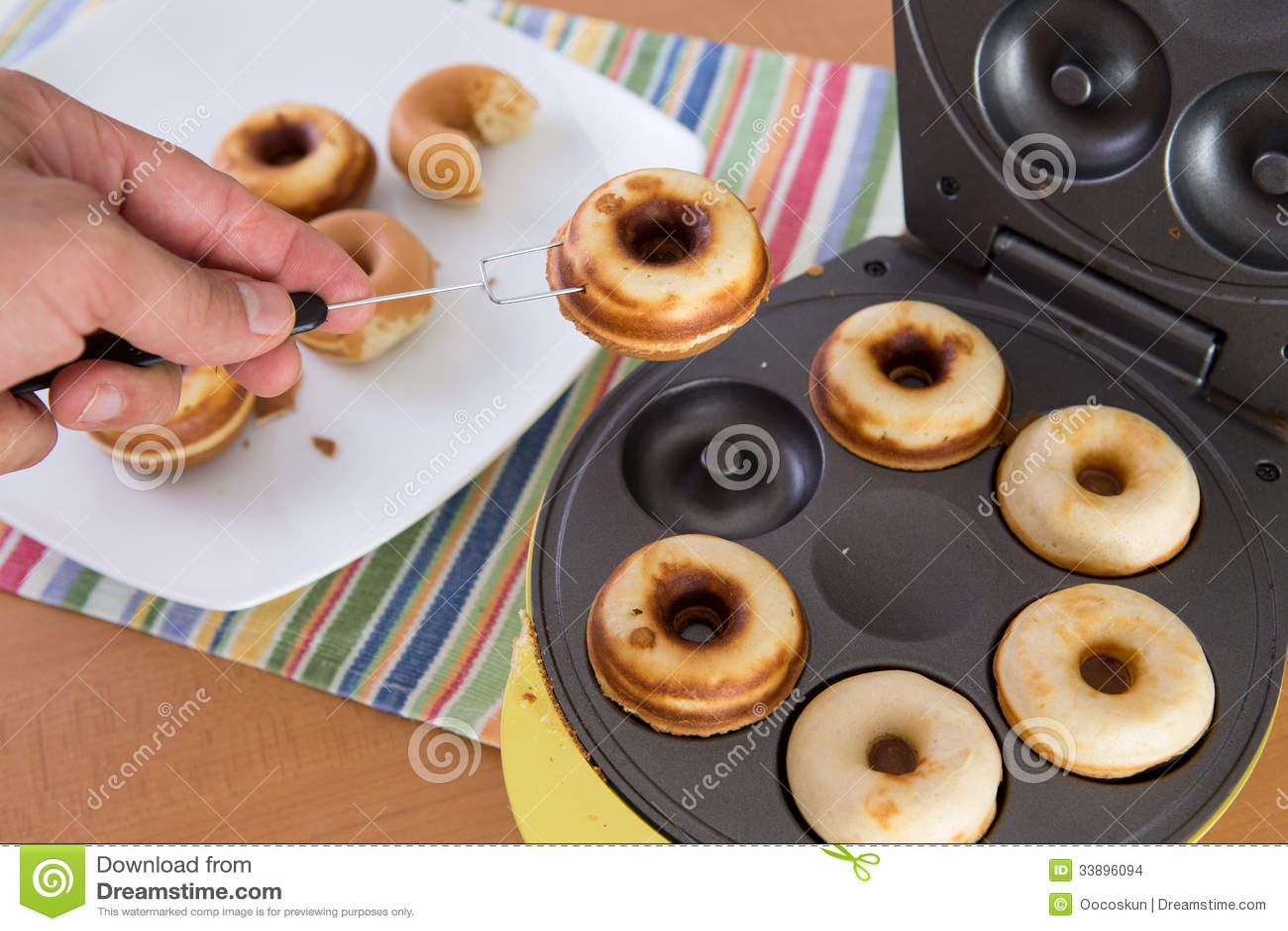 mini donut maskin