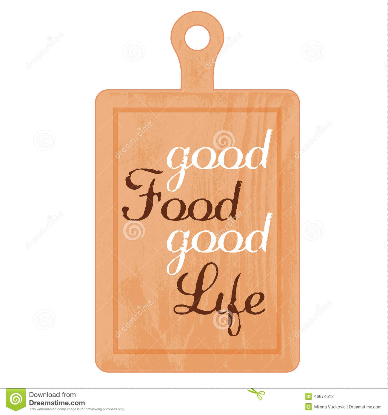 Baking Slogan Stock Photo Image 46674513