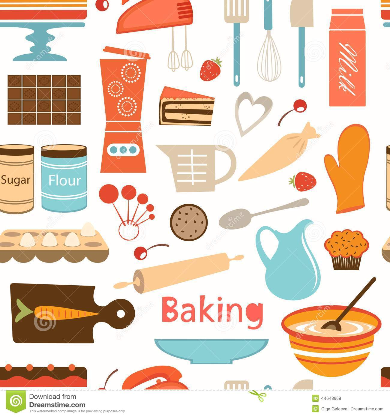 Baking Wallpaper Stock...