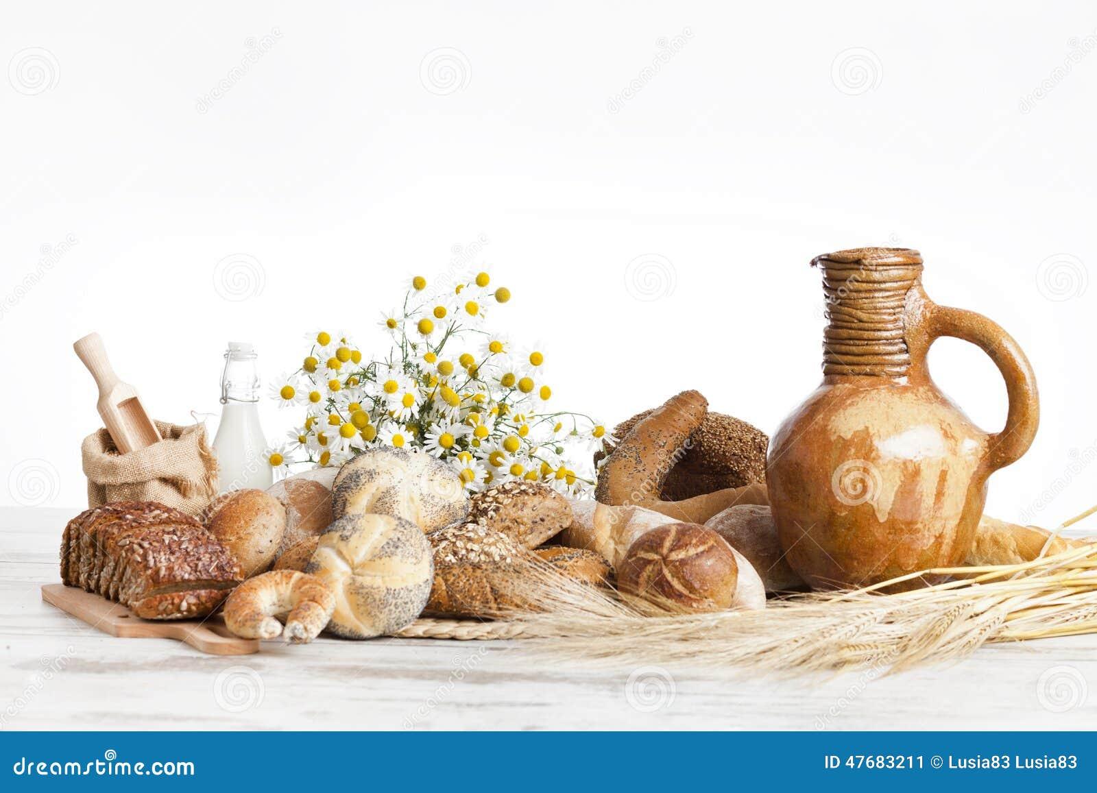 Bakkerijbrood, ontbijt
