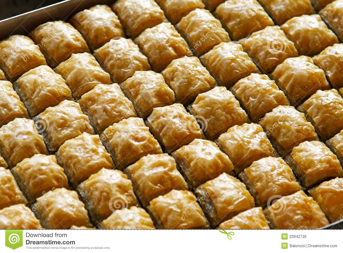 Baklava royalty free stock photo image 23942735 for Authentic turkish cuisine