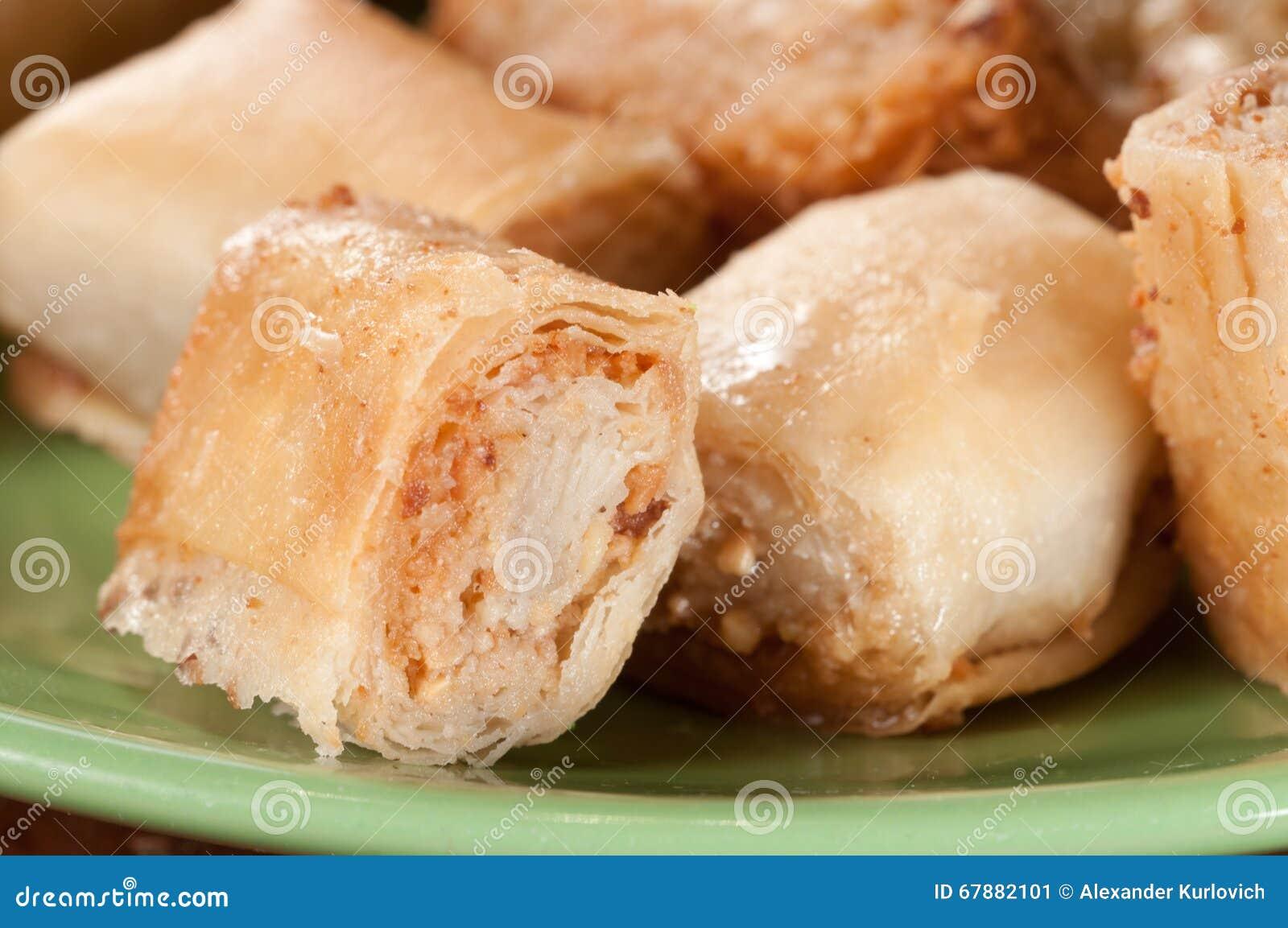 Baklava con l arachide