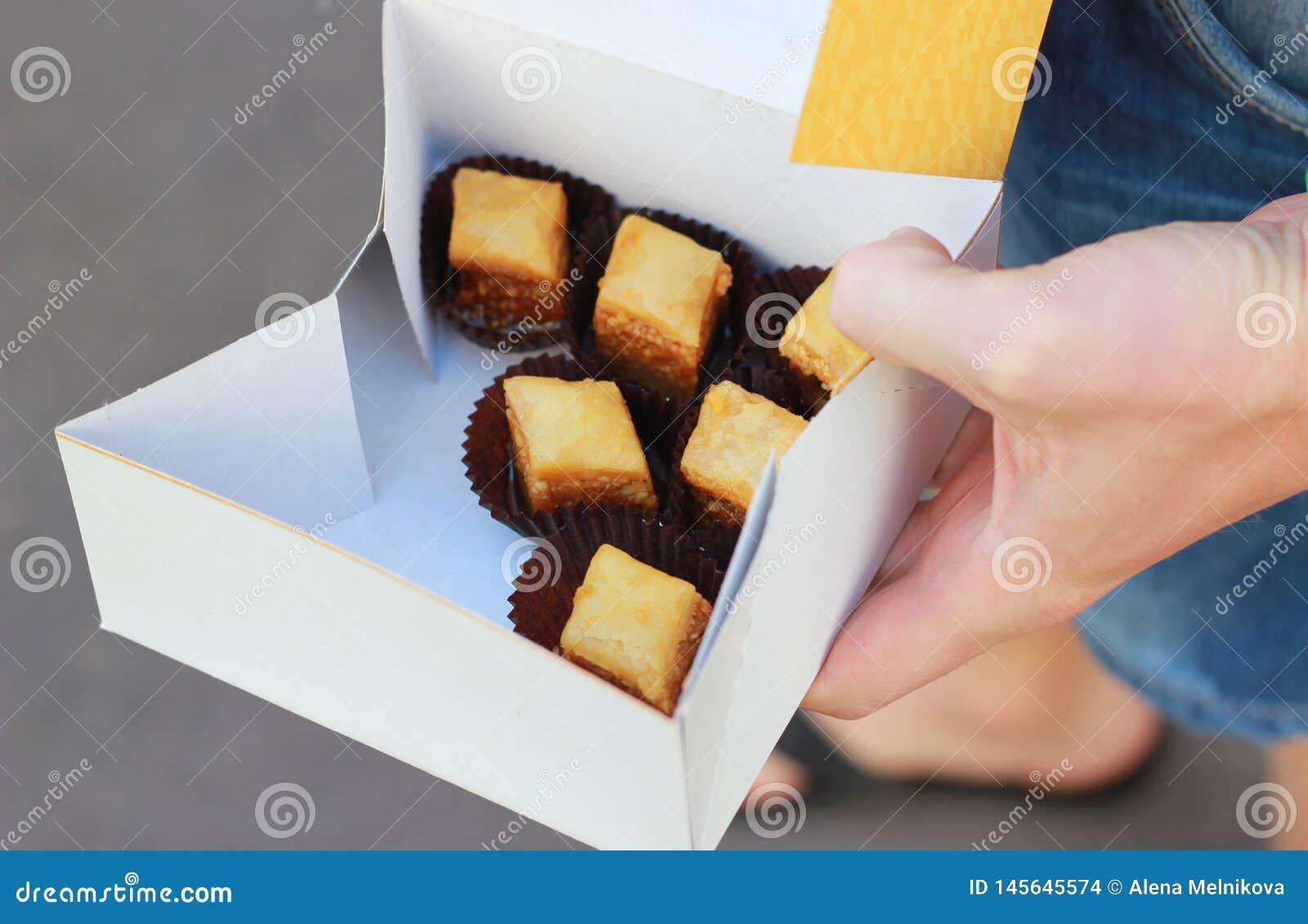 Baklava de la panadería
