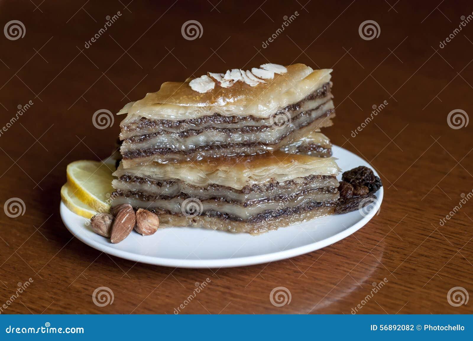 Baklava del dessert