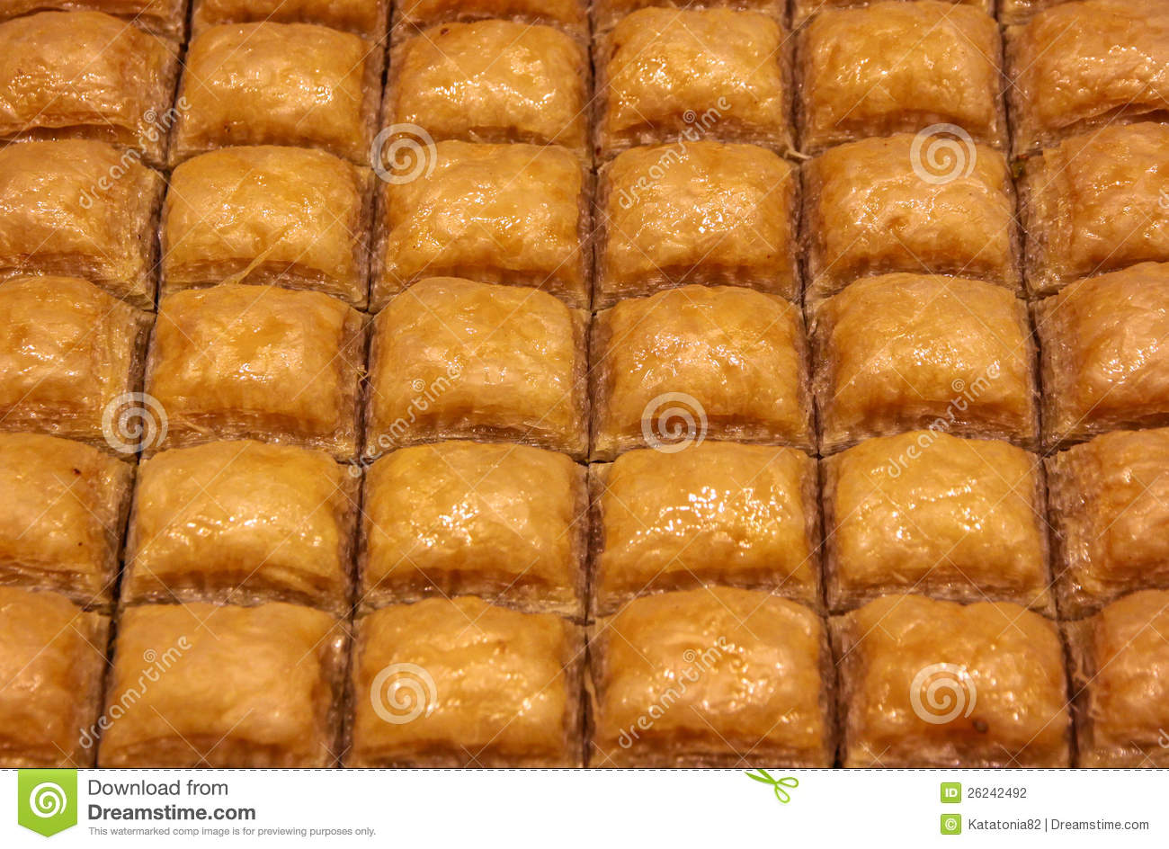Baklava turque traditionnelle photographie stock image for Maison traditionnelle turque