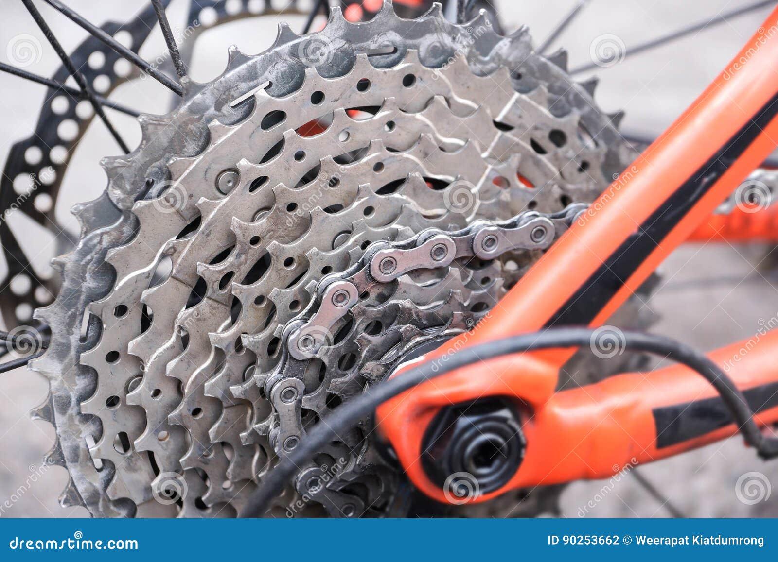 Bakre kassett för cykel
