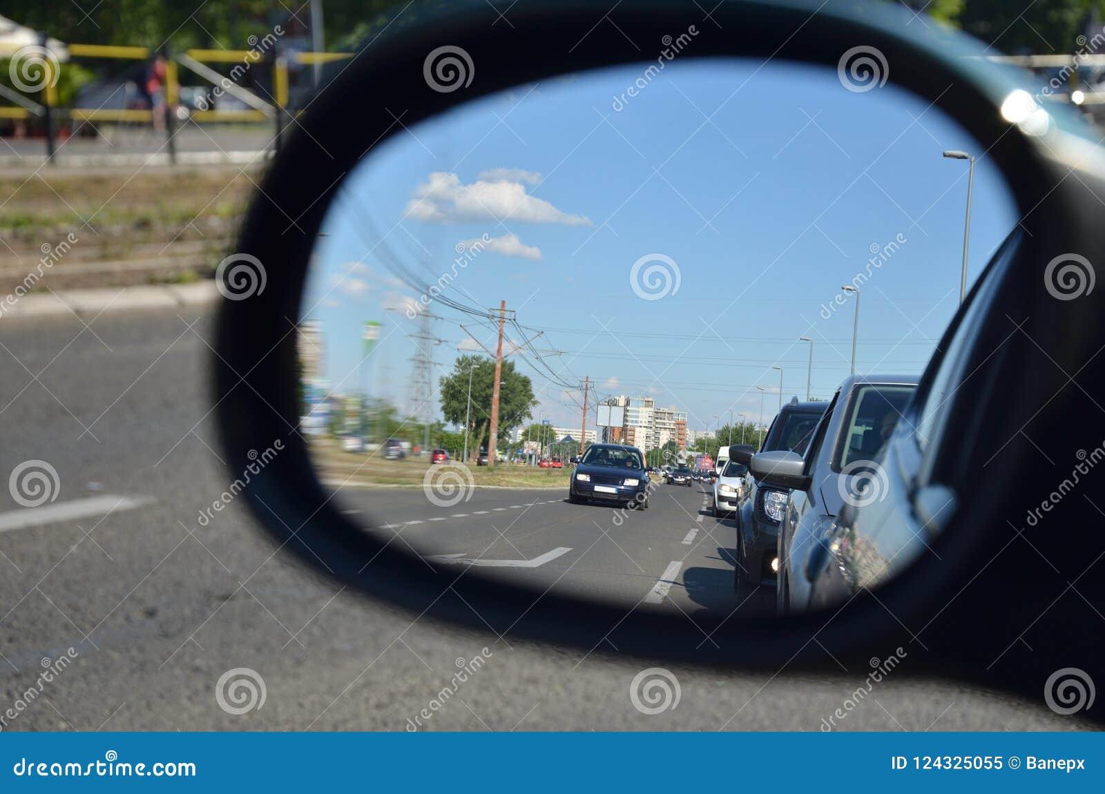Bakre sikt för spegel