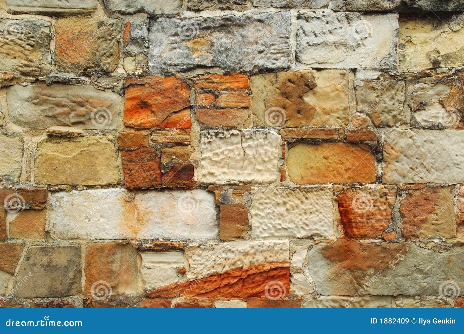 Bakstenen muur 02 van de steen stock afbeelding afbeelding 1882409 - Muur van de ingang ...