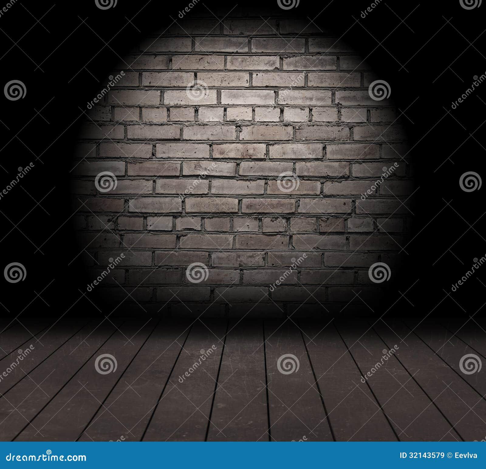 Bakstenen muur.