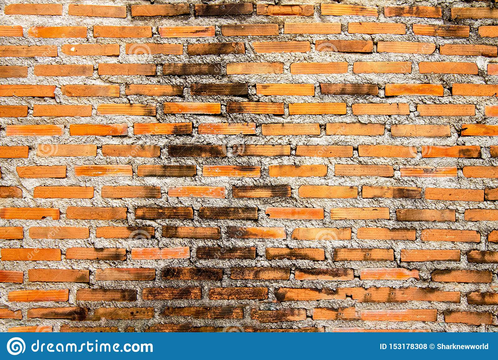 Bakstenen muurtextuur