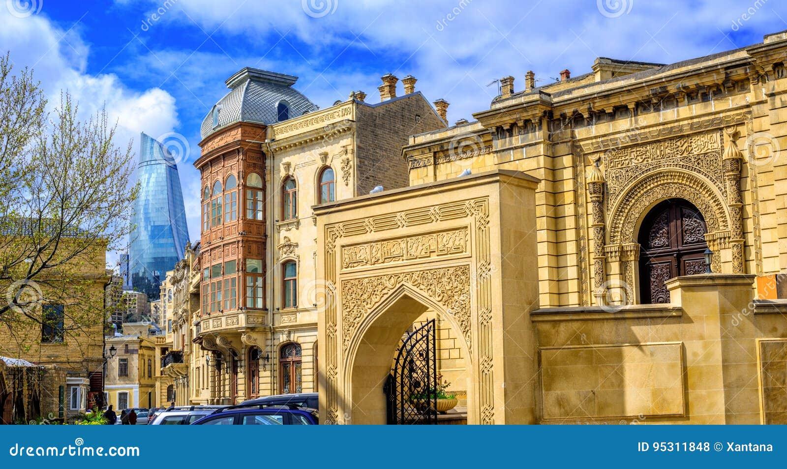Baku Old Town, Azerbaijan