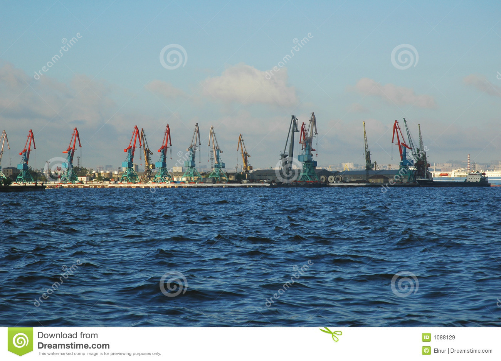 Baku seaport