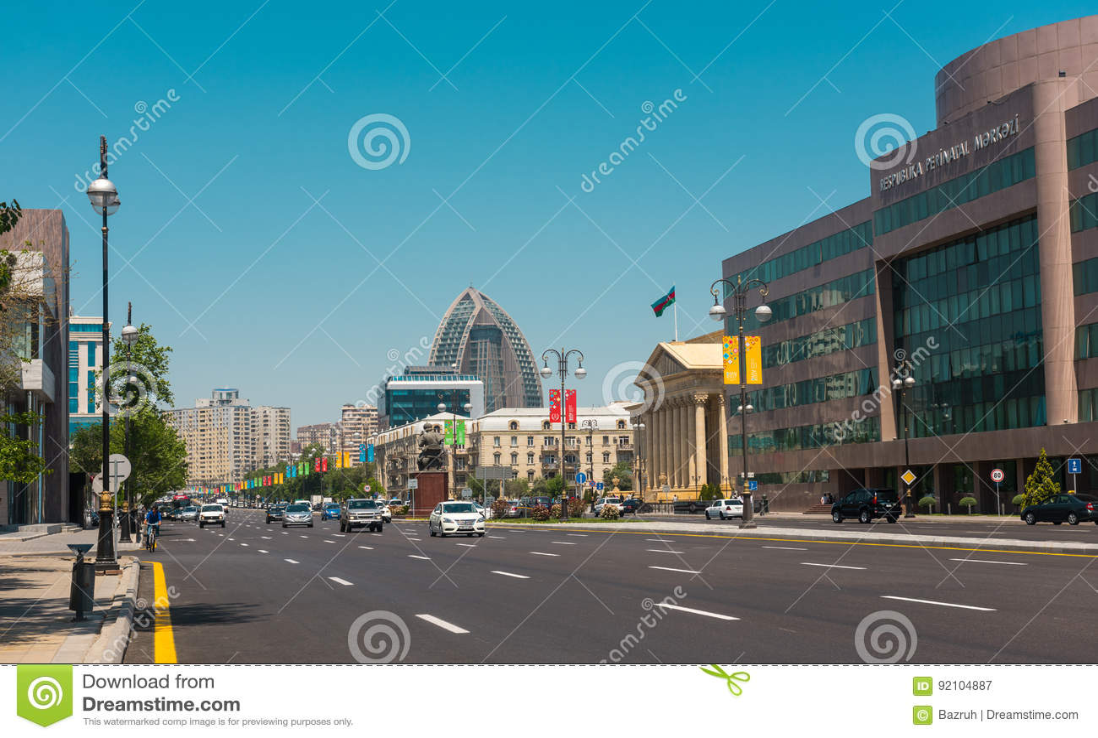 Baku stadsgator
