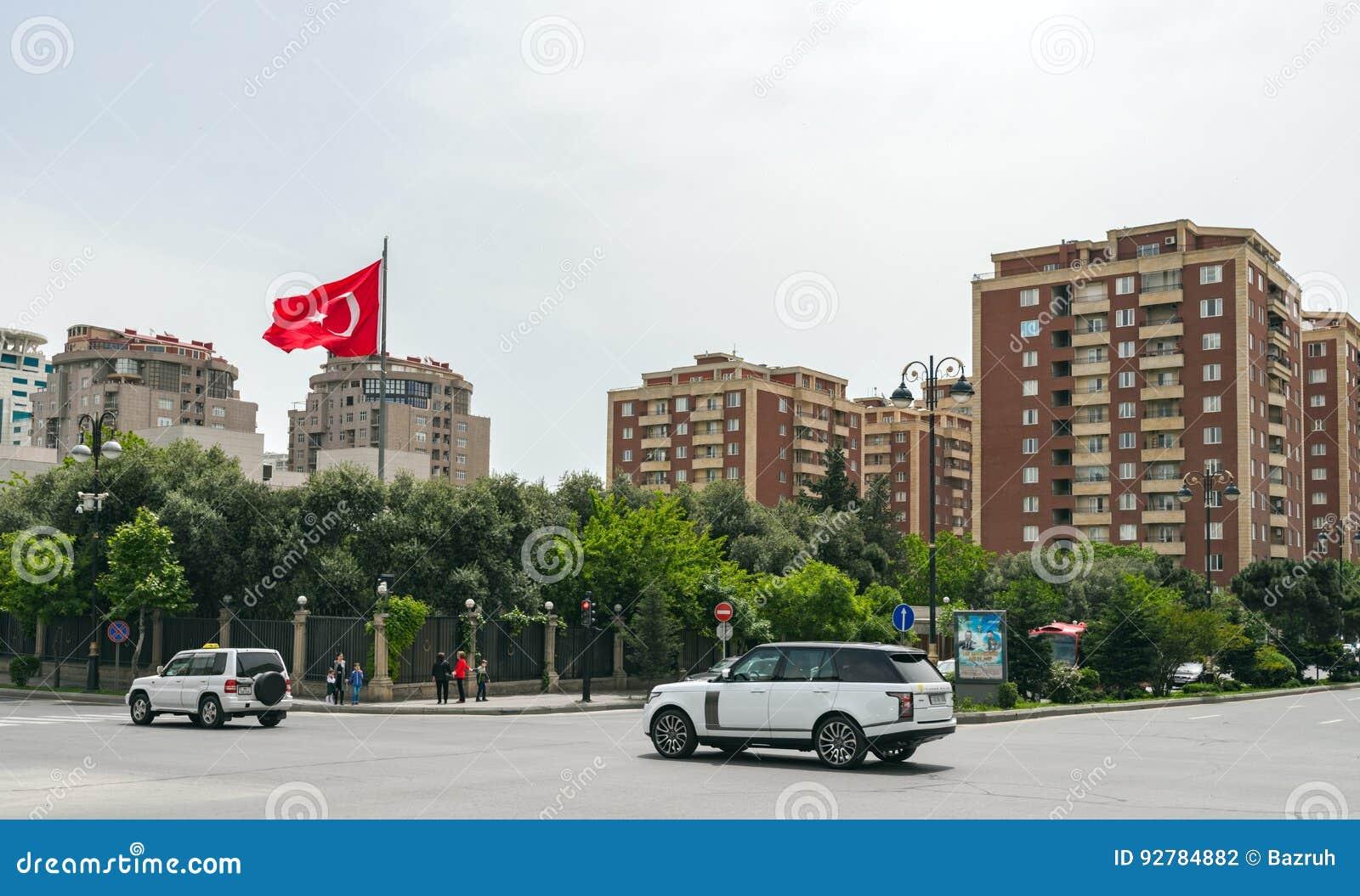 Baku stadsstraten
