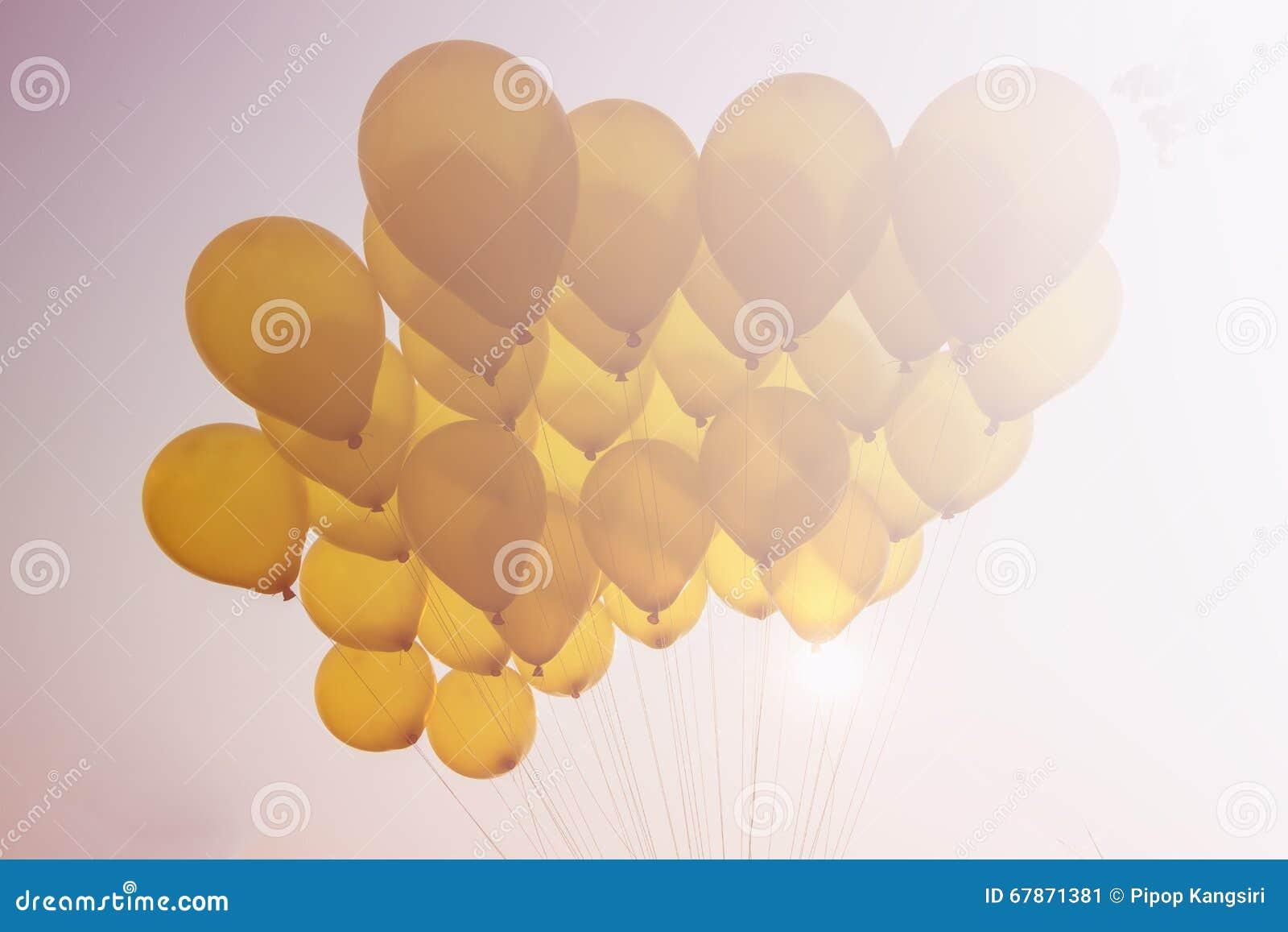 Balão no céu