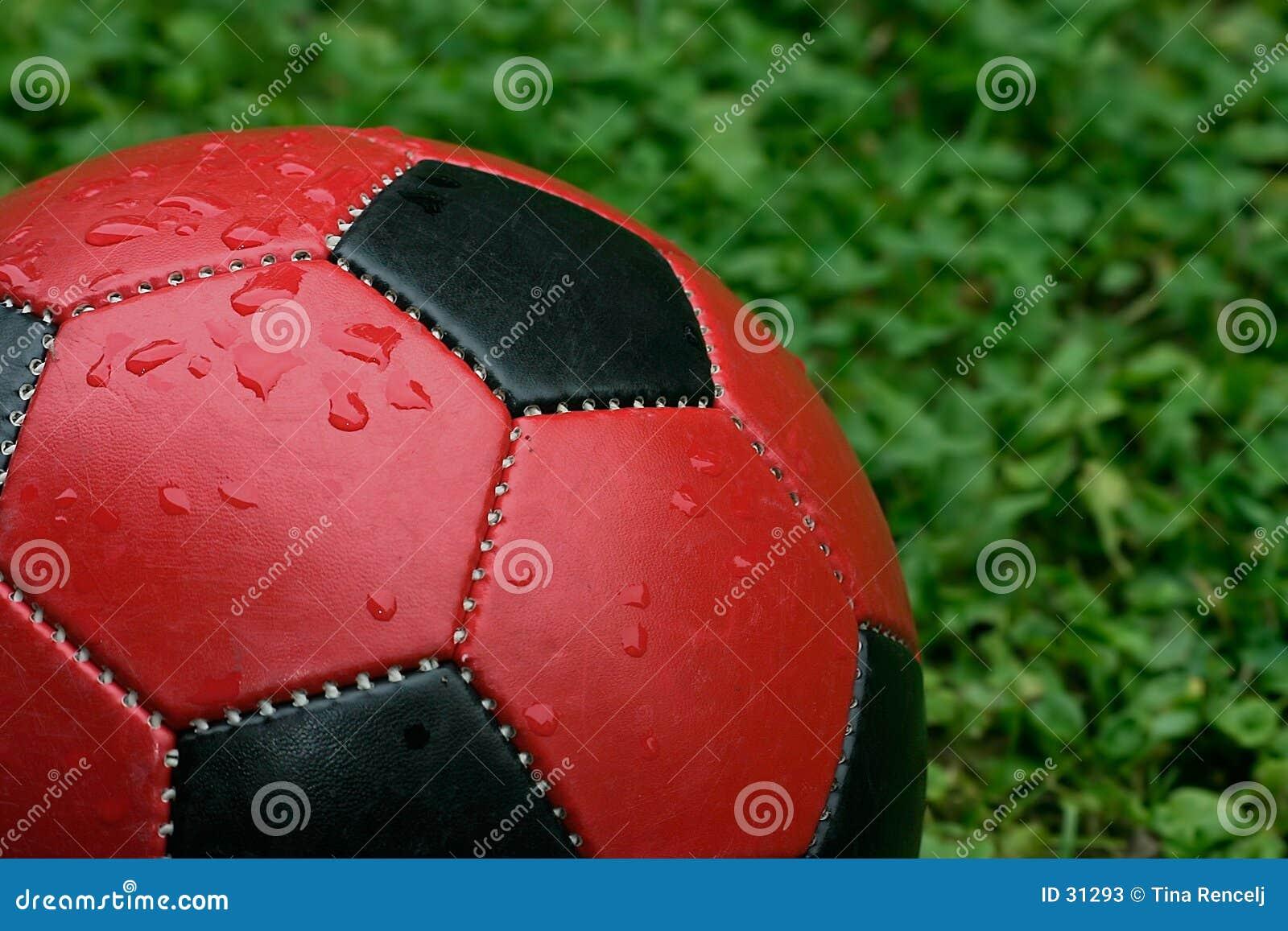 Download Balón de fútbol imagen de archivo. Imagen de dribbler, escuela - 31293